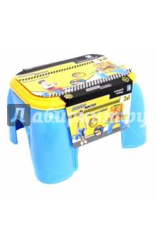 Игровой набор-стул Профи Мастер 2 в 1 (Т10178) машинки hti паровозик roadsterz синий с вагоном звуковыми и световыми эффектами