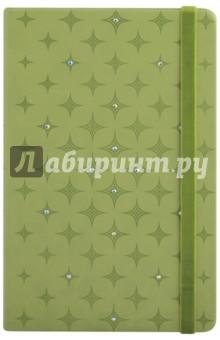 """Ежедневник недатированный """"Виннер"""" (96 листов, А5, салатовый, твердая обложка) (45123)"""
