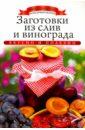 Заготовки из слив и винограда, Любомирова Ксения
