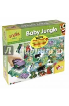Настольная игра Мой зоопарк. Пазл для самых маленьких с 3-D фигурками