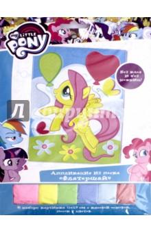 """Аппликация из песка """"My little pony. Флатершай"""" (03184)"""