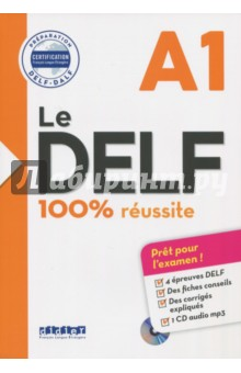 Le DELF. 100% reussite. A1 (+CD) vocabulaire essentiel du francais b1 cd