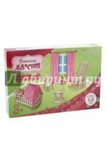 Мебель для больших кукол до 30 см Детская комната Мечта (М-007) мебель для кукол кабинет сонечки