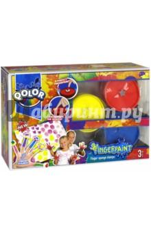Пальчиковые краски (3 цвета) (983-17) краски играем вместе пальчиковые краски multiart