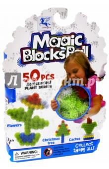 Конструктор-липучка Magic BlocksBall (50 элементов, 5 цветов) (1205-2) липучка конструктор фрукты 50 элементов
