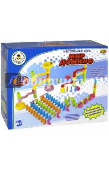 Настольная игра Мир Домино (122 детали) (РТ-00820) игра настольная торт в лицо рт 00650