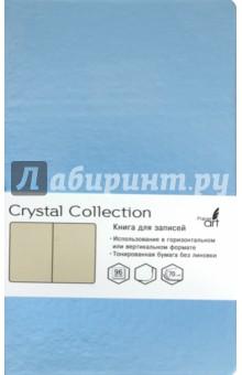 Книга для записей, 96 листов, 100х181 Голубой лед (КЗКК962221) записные книжки канц эксмо книга для записей с поролоном 80 листов орнамент разноцветные зонтики