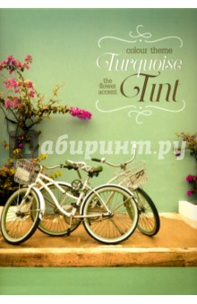 """Тетрадь для коспектов, 80 листов, А4 """"Велосипеды"""" (28035)"""