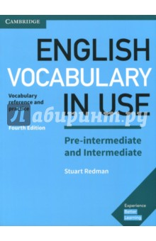 English Vocabulary in Use Pre-intermediate and Intermediate Book with Answers: Vocabulary Reference iwonna dubicka margaret o keeffe english for international tourism pre intermediate workbook without key сd