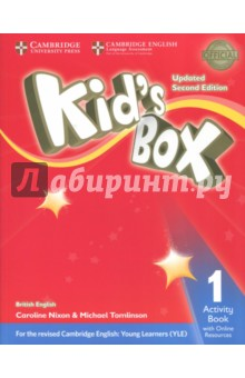 Kid's Box Upd 2Ed AB 1 +Online Res hewings martin thaine craig cambridge academic english advanced students book