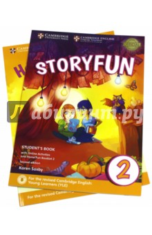 Storyfun for Starters,Mov.andFlyers 2Ed Start.2 SB storyfun for movers teacher s book with audio cds 2