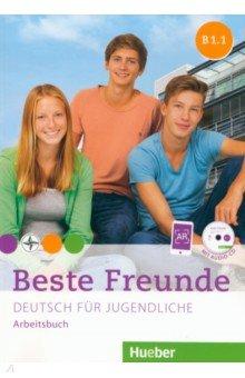 Beste Freunde B1/1, Arbeitsbuch mit Audio-CD muller m optimal b1 lehrwerk fur deutsch als fremdsprache arbeitsbuch cd