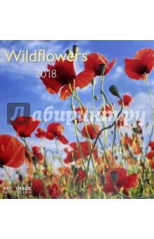 Календарь 2018 Полевые цветы 30*30 (95599)