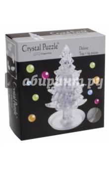3D головоломка Ёлочка белая (91111) пазлы crystal puzzle 3d головоломка вулкан 40 деталей