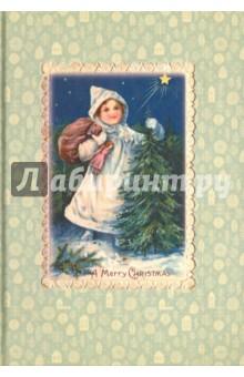 Блокнот Девочка с елкой (нелинованный, 80 листов) книги рипол классик с п хозяин озера