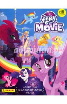 Альбом для коллекционирования наклеек My Little Pony Movie (15 наклеек в комплекте) детские наклейки монстер хай monster high альбом наклеек