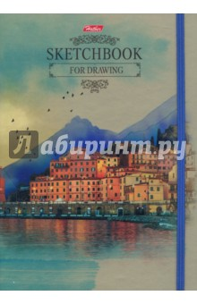 Тетрадь-скетчбук SketchBook. Прогулки по Европе (130 л., А5, нелинованная) (80-50Тт5Aгрз_16352) подвесной светильник la lampada 130 l 130 8 40
