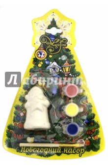 Набор новогодний для творчества Дед мороз со звездой (75931) украшение новогоднее подвесное mister christmas дед мороз коллекционное высота 10 см