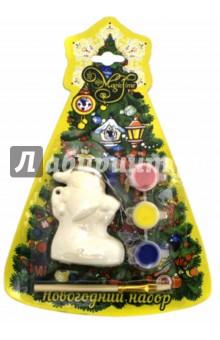 Набор новогодний для творчества Дед мороз в носке (75926) украшение новогоднее подвесное mister christmas дед мороз коллекционное высота 10 см