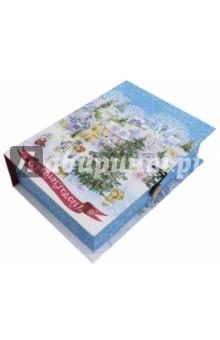 Zakazat.ru: Коробка подарочная Новогодняя площадь (75039).