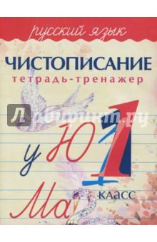 Русский язык. 1 класс. Чистописание. Тетрадь-тренажер
