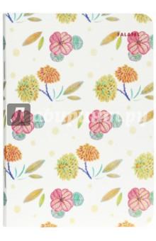 Блокнот Flowers (A6, 40 листов, без линовки, кремовая бумага) (402709) блокнот index in0201 a640 a6 40 листов в ассортименте in0201 a640