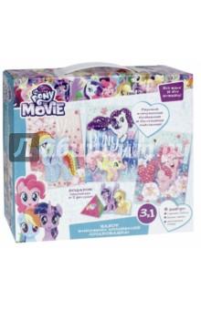 Набор жемчужных аппликаций My little pony. Очарование (3 в 1) (03194) набор для детского творчества набор д вышивания гладью my little pony
