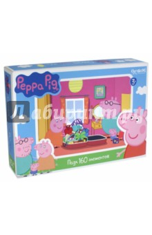 Пазл Peppa Pig. Путешествие (160 элементов) (01541) peppa pig пазл супер макси 24a контурный магниты подставки семья кроликов