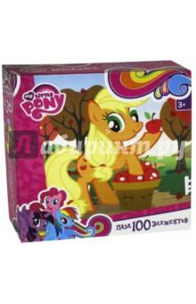 Пазл-100 My Little Pony. Эпплджек (02098) мягкие игрушки мульти пульти my little pony пони эпплджек 23 см