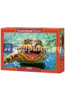 Puzzle-500 Зеленая и забавная (B-52813) puzzle 500 яркие совы alpz500 7701