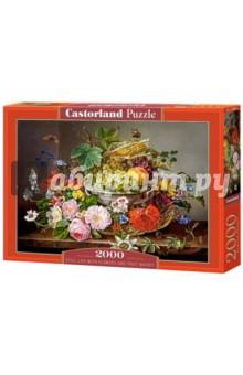 Купить Puzzle-2000 Натюрморт с цветами (C-200658), Castorland, Пазлы (2000 элементов и более)