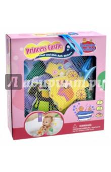 Стикеры для ванны Замок принцессы (BB013) barneybuddy barneybuddy игрушки для ванны стикеры замок принцессы