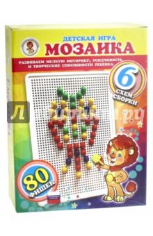"""Мозаика 80 фишек """"Сова"""" (желтая)"""