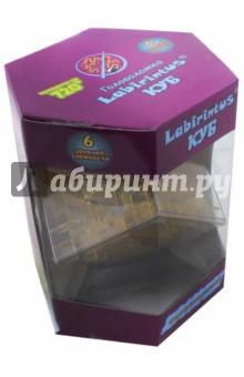 """Лабиринтус """"Куб"""" 10 см, желтый (LBC0002)"""