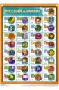 Таблица. Русский алфавит, А4 (З-2512)