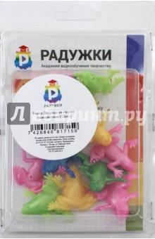 Набор Лягушки на счастье разноцветные (12 штук) весна набор для ванной лягушки