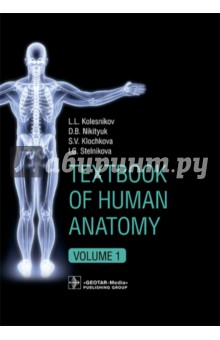 Textbook of Human Anatomy. Volume 1: Locomotor apparаtus human anatomical anatomy hand medical model nerve blood vessel divided
