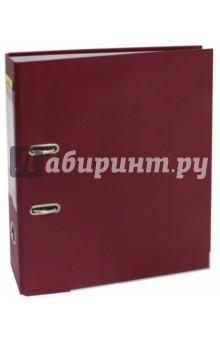 Папка-регистратор (A4, 75 мм, бордовый) (355021-27)