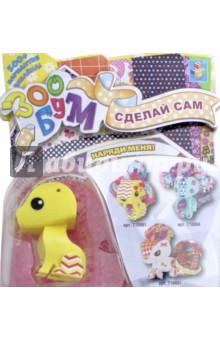 Купить Набор для творчества-игрушка Собачка (Т10881), 1TOY, Раскрашиваем и декорируем объемные фигуры
