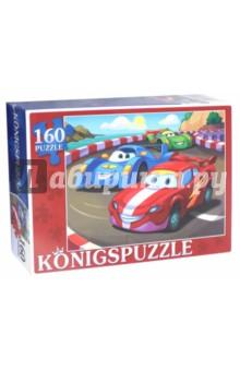 Купить Пазл Две тачки (160 элементов) (ПК160-5830), Konigspuzzle, Пазлы (100-170 элементов)