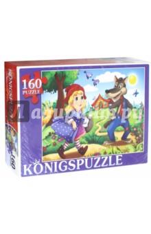 Купить Пазл Красная шапочка (160 элементов) (ПК160-5833), Konigspuzzle, Пазлы (100-170 элементов)