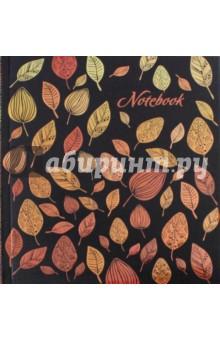 Запиская книжка Листья (96 листов) (45726) записная книжка dolce vita 96 листов i283 blue