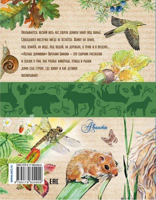 Иллюстрация 1 из 47 для Лесные домишки - Виталий Бианки   Лабиринт - книги. Источник: Лабиринт