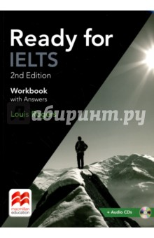 Ready for IELTS. Workbook with Answers (+2CD) objective first 4 edition workbook with answers cd rom
