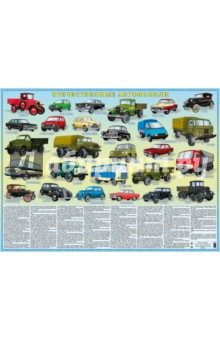 Отечественные автомобили. Настольное издание издательство аст автомобили