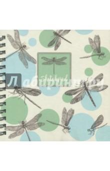 Скетчпад Стрекозы (80 листов, гребень) (47174) феникс альбом для эскизов зигзаги 80 листов