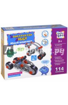 Отверточный конструктор Jiggy Юный моделист 114 элементов (67553) kribly boo набордляраскрашивания