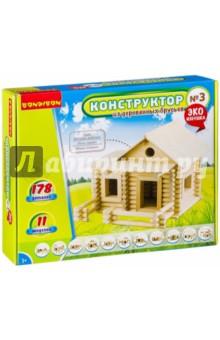 Купить Конструктор из деревянных брусьев №3 (ВВ2603), BONDIBON, Конструкторы из дерева