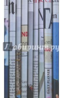 планинг недатированный красный горизонтальный 128 страниц 45640 Ежедневник недатированный, 128 листов, 95x170 Газеты (ЕЖ18612802)