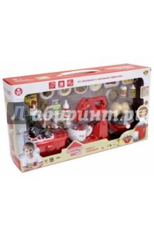 Кухонная техника с продуктами (РТ-00663) машинки hti паровозик roadsterz синий с вагоном звуковыми и световыми эффектами